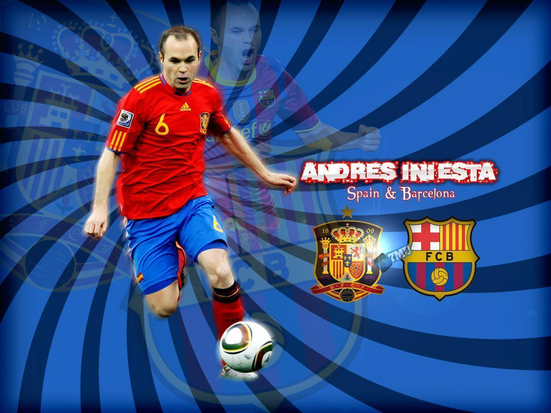 Andres Iniesta Wallpapers Spanish