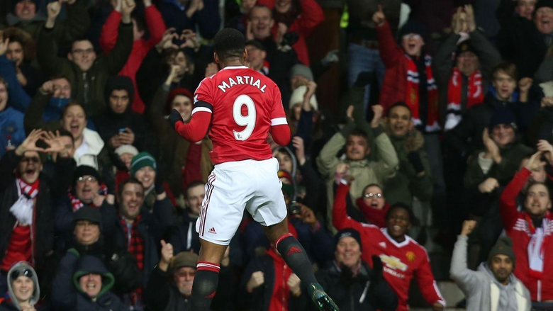 Another award for Anthony Martial
