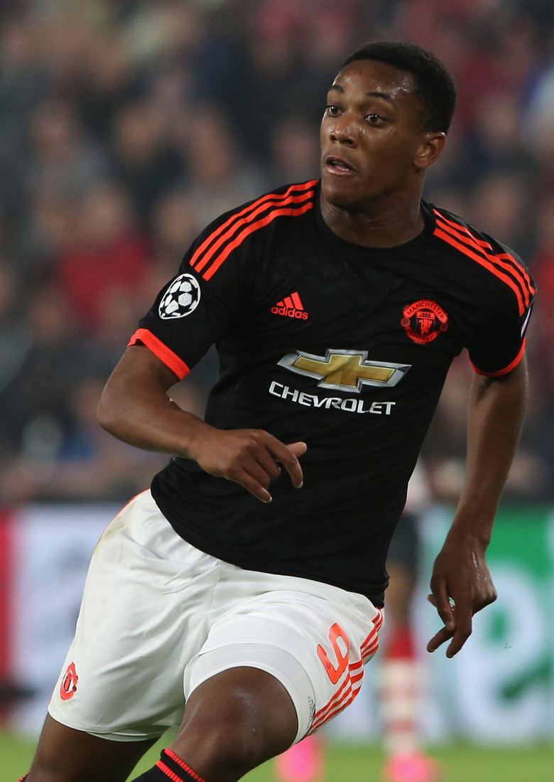 Ander Herrera Anthony Martial has different qualities