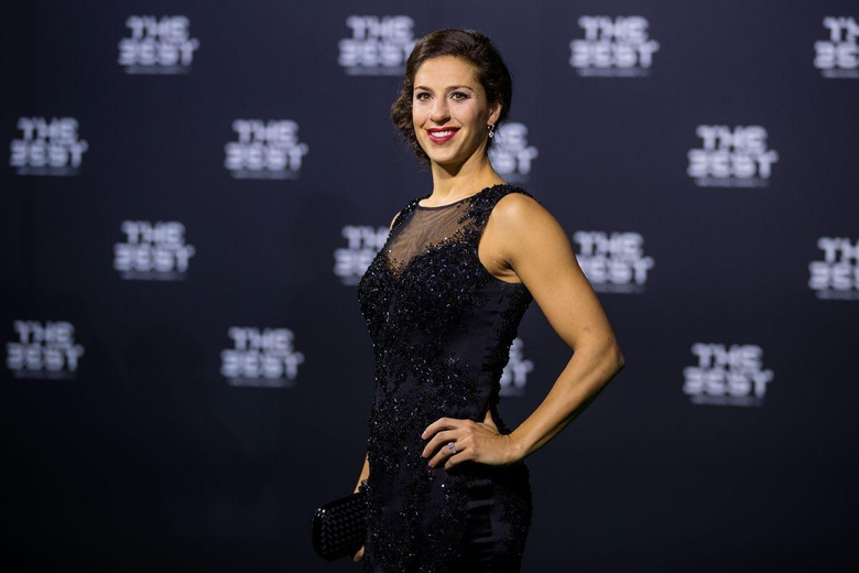 Carli Lloyd named The Best FIFA women s player of the year