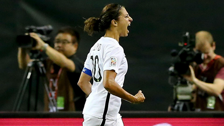 Women s World Cup final hero Carli Lloyd wins Golden Ball Silver