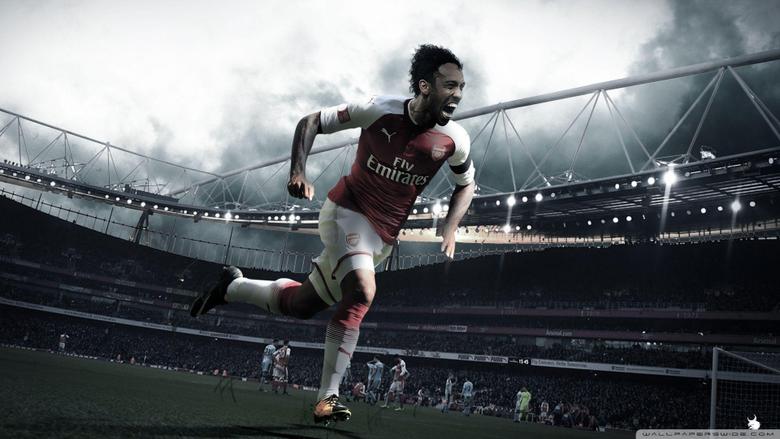 Aubameyang Welcome to Arsenal Wallpapers 2018 19 4K HD Desktop