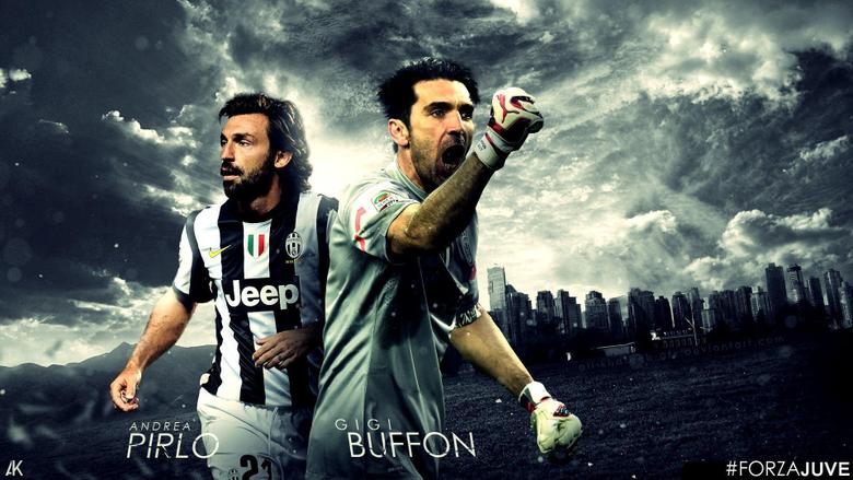 Andrea Pirlo And Gigi Buffon Juventus Wallpapers