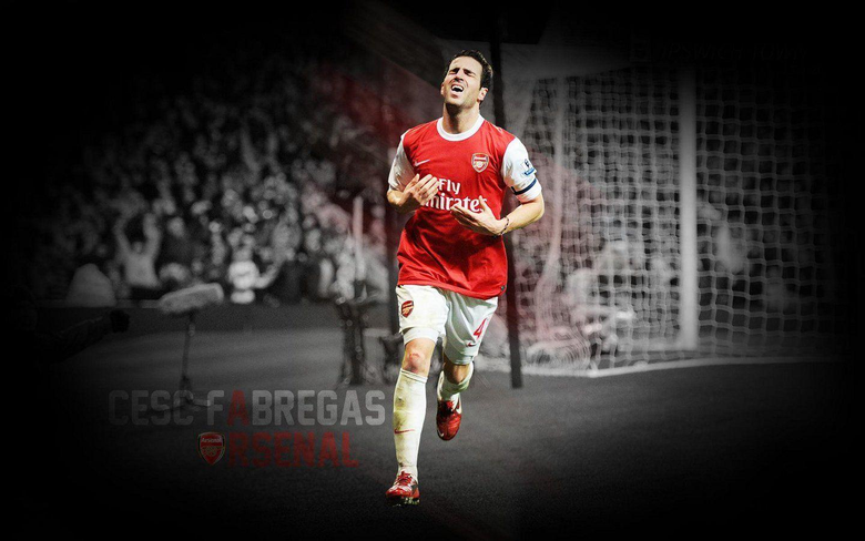 Cesc Fabregas Arsenal Team Players Wallpapers