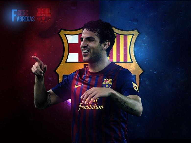 Cesc Fabregas FC Barcelona Club wallpapers