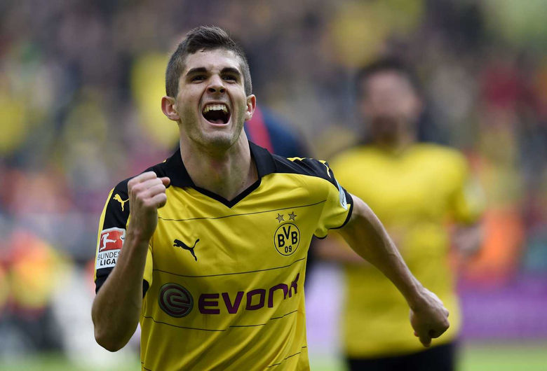 At 17 Christian Pulisic does what no one has with U S Soccer and