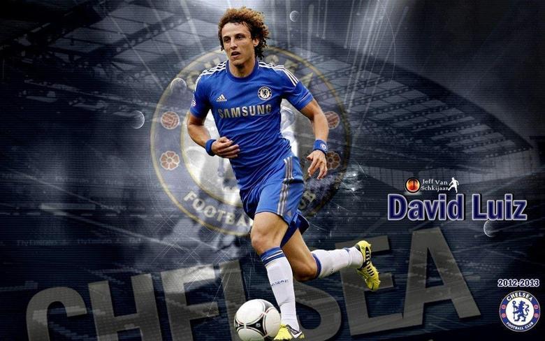 David Luiz HD Backgrounds