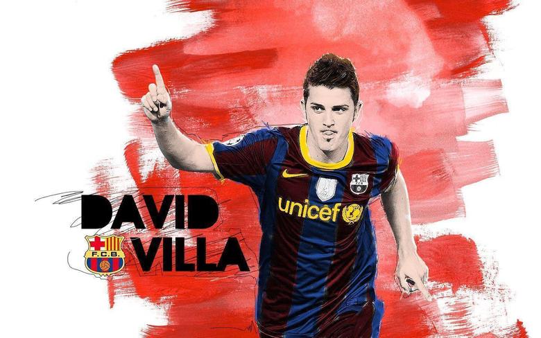 David Villa Wallpapers 2013 5375 Hd Wallpapers in Football