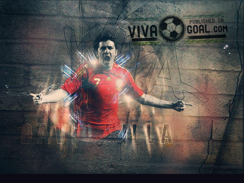 David villa Wallpapers and Backgrounds