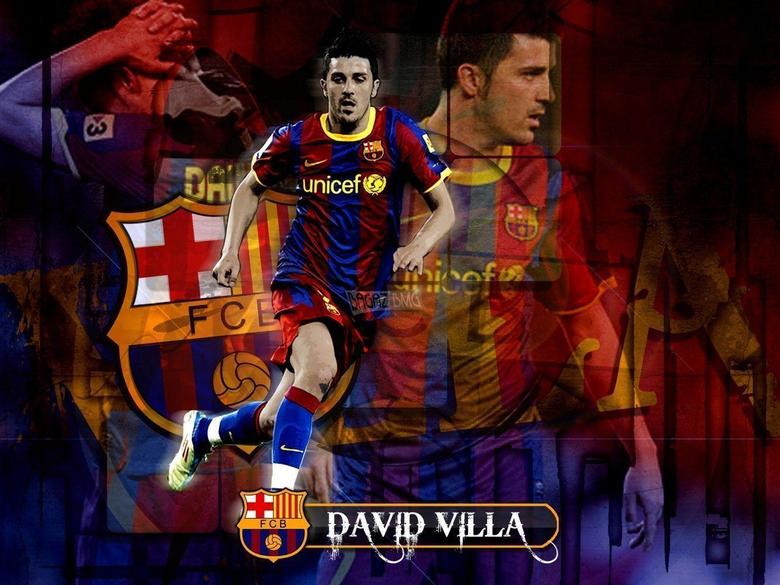 David Villa 2012 07 Wallpapers