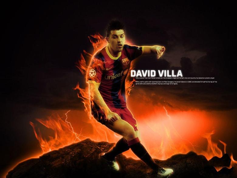 David Villa Football Wallpapers