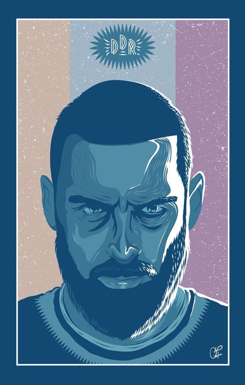 Daniele De Rossi Vector Poster by Zimone88