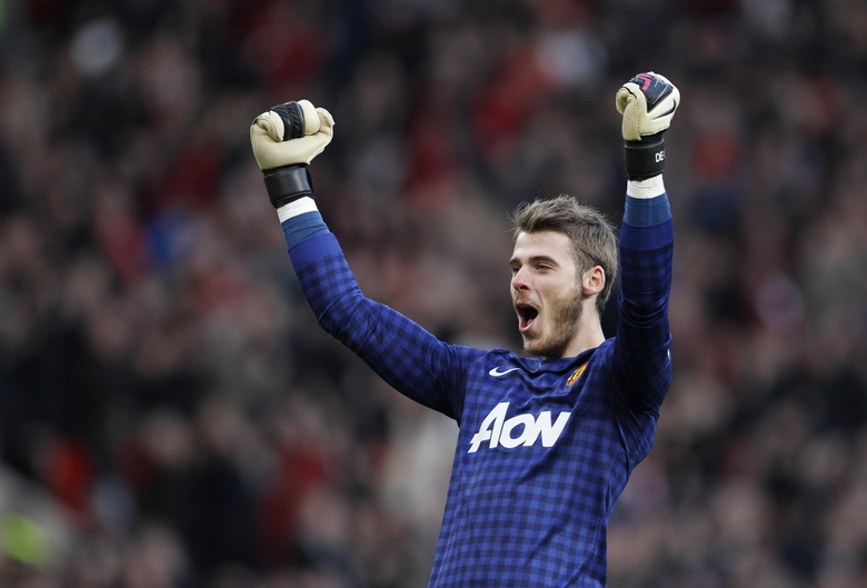 Manchester United David De Gea after the game wallpapers and