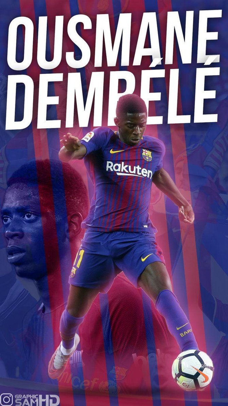 Ousmane Dembele Phone Wallpapers 2017 2018 by GraphicSamHD on