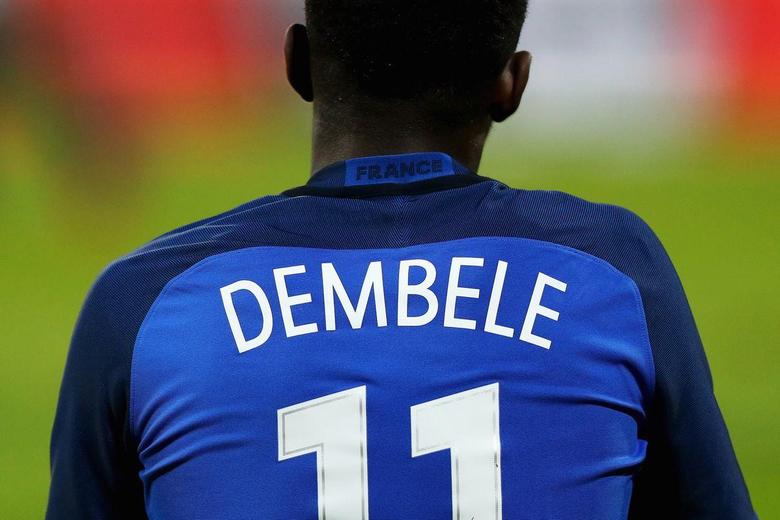 WATCH Ousmane Dembele looking sharp in France training ahead of