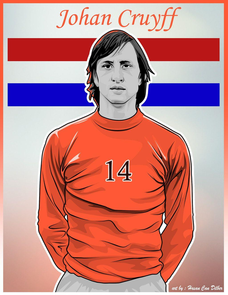 Signed Johan Cruyff Football Shirt Home Barcelona 900×1350 Johan