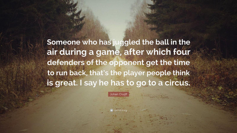 Johan Cruijff Quotes