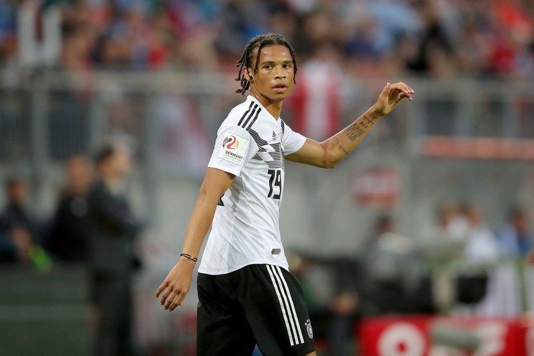 German drops Leroy Sané in favor Julian Brandt and Julian Draxler