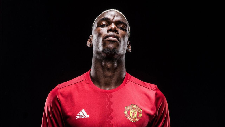 Gallery Paul Pogba in Manchester United kit