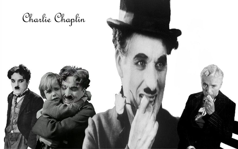 Charlie Chaplin Wallpapers by MissRedRose03