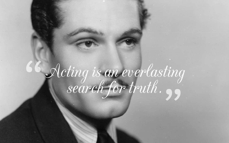 English Actor Laurence Olivier Quotes Sayings