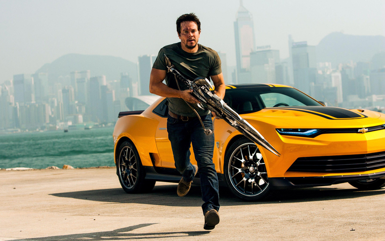 Mark Wahlberg in Transformers 4 Wallpapers