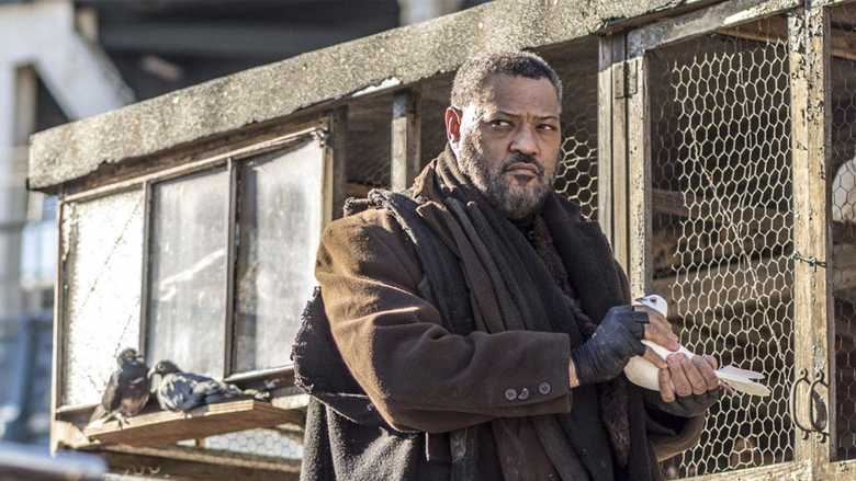 John Wick 3 Set Pics Show Laurence Fishburne Engaged In Sword Fight