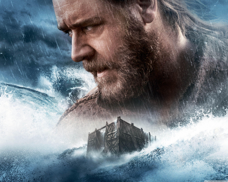 Noah Movie Russell Crowe 4K HD Desktop Wallpapers for Wide