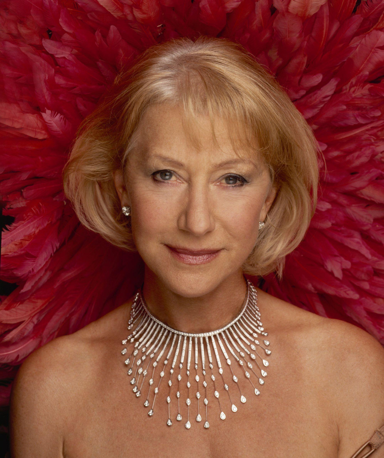 Helen Mirren for showing that you can be elegant and beautiful at