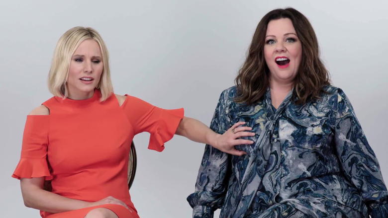 Melissa McCarthy Kristen Bell Answer The Web s Most Searched