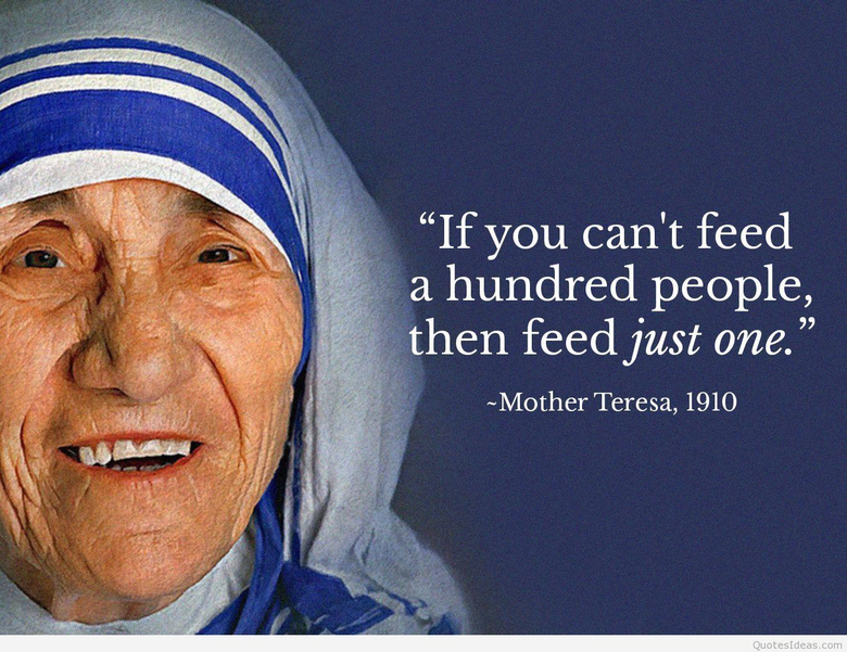 Best Mother Teresa quotes sayings with pics image