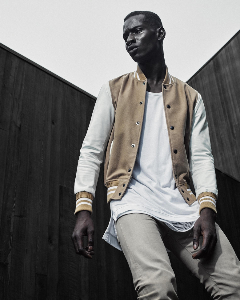 Model Adonis Bosso Fronts John Elliott Co Fall Winter 2015