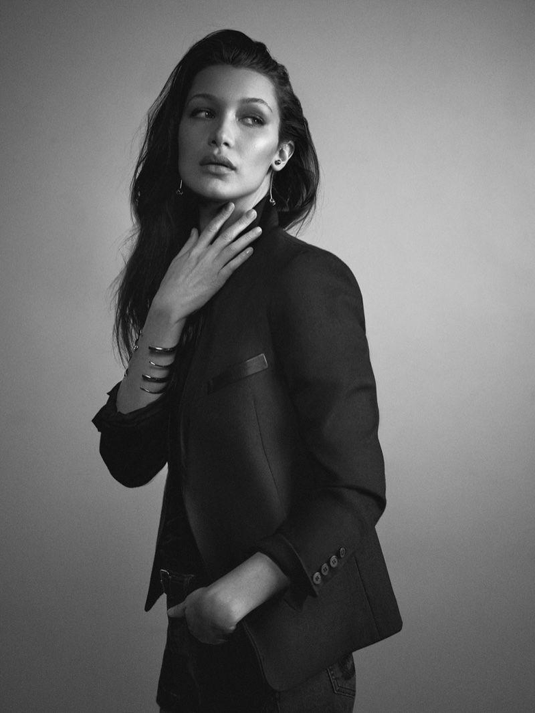 Bella Hadid Wears Minimal Styles for Exit Cover Story