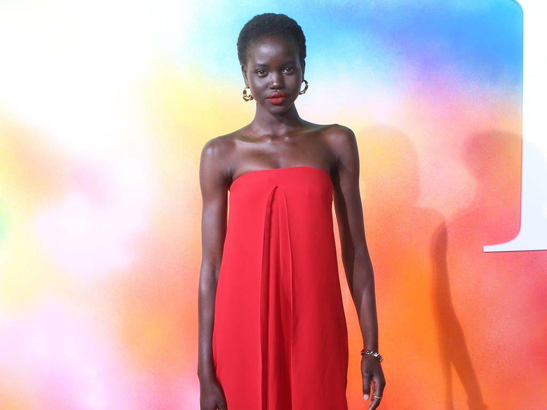 Adut Akech praises human rose Kaia Gerber after pair close pre