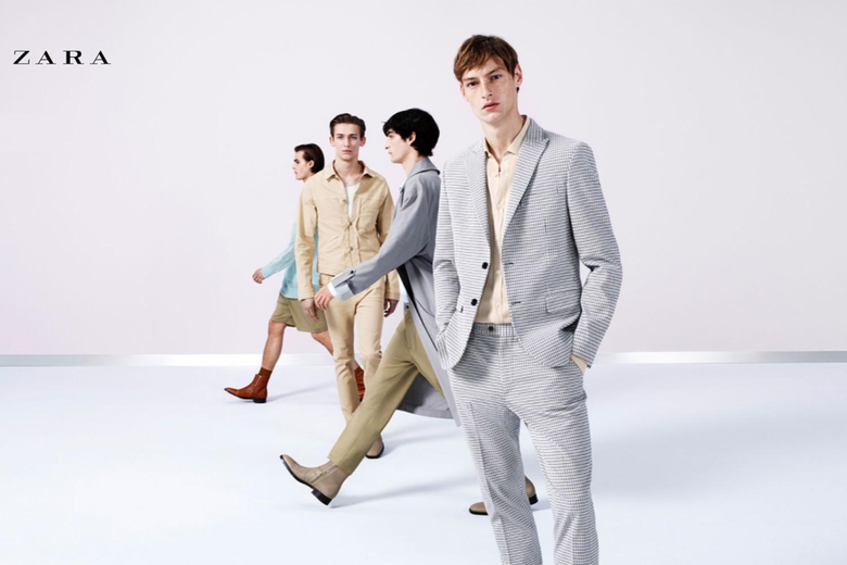 CHRISTOPHER EINLA for ZARA MAN SS18 CAMPAIGN by WILLY VANDERPERRE