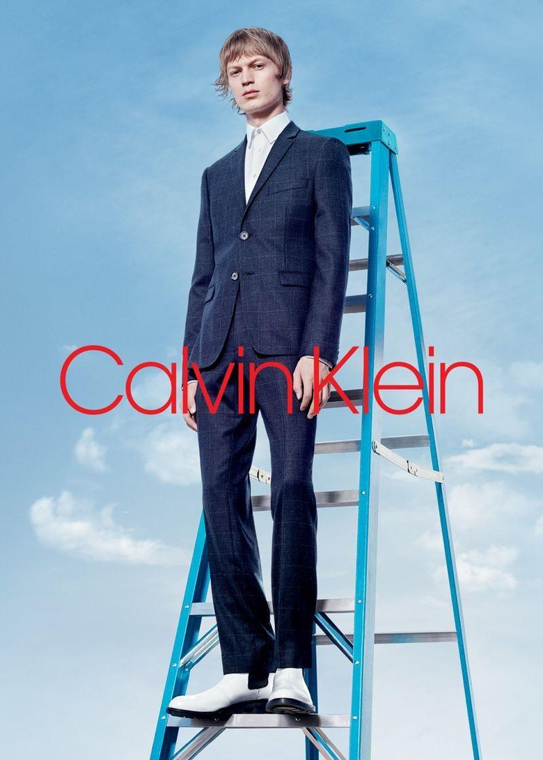 Jonas Glöer Piero Mendez More Front Calvin Klein Fall 18 Campaign