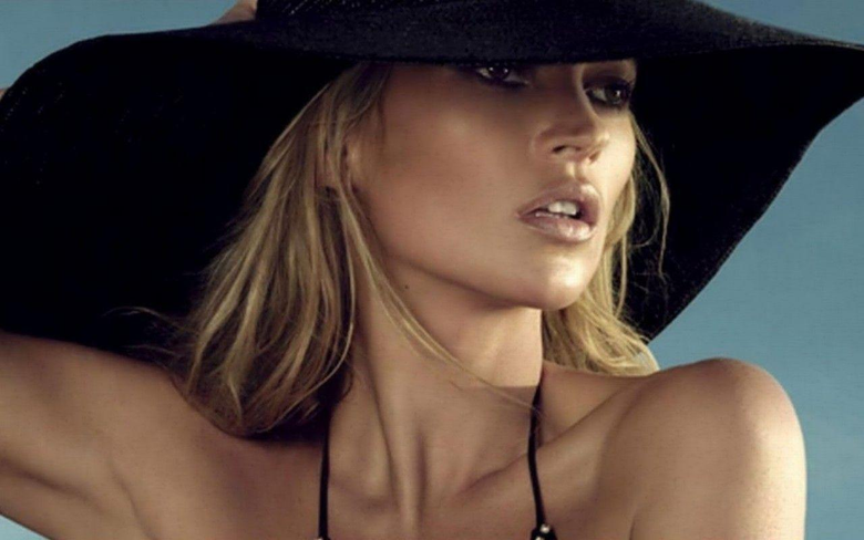 Kate Moss Hat Wallpapers