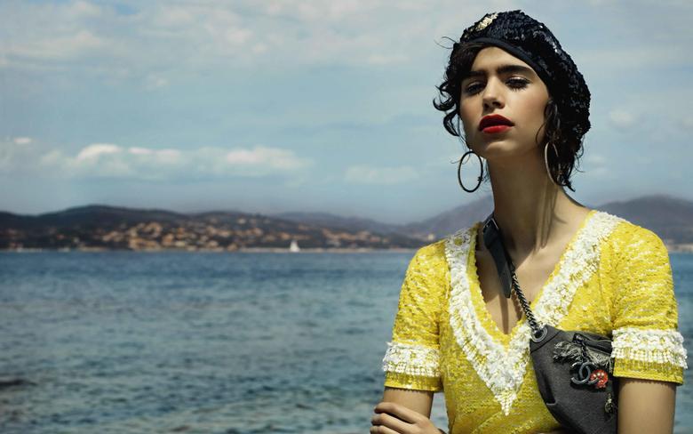 wallpapers Mica Arganaraz portrait argentine top model