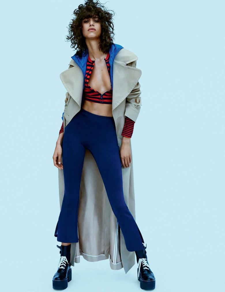 Mica Arganaraz in Vogue UK July 2016 by Daniel Jackson