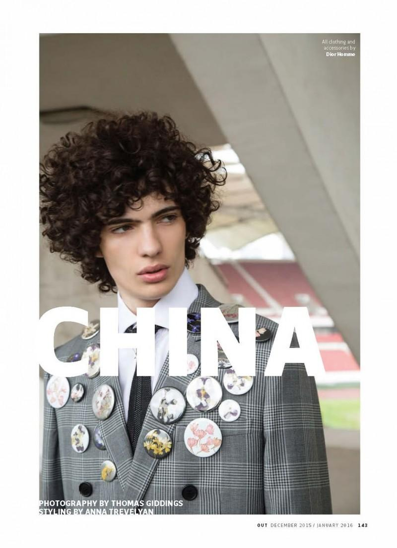 Dior Homme Fall Winter 2015 OUT Travels to China