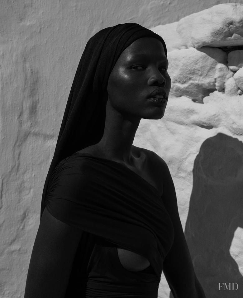 Shanelle Nyasiase in Vogue Brazil with Shanelle Nyasiase