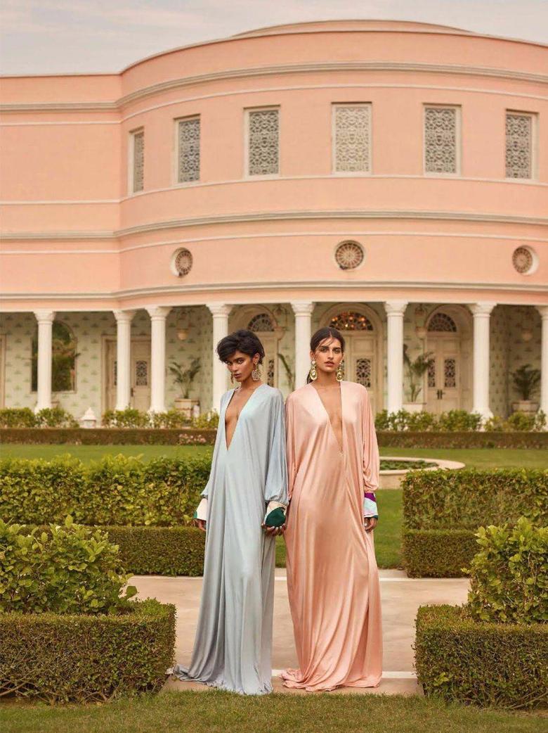 Saffron Vadher Radhika Nair Wear Opulent Beauty Lensed By Greg