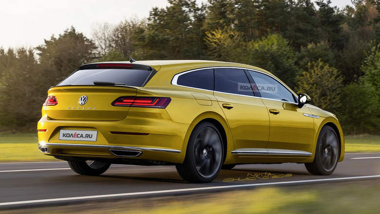VW Arteon Shooting Brake imagined