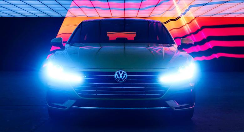 VW Arteon Stars In Techno Shoot Ahead Of Its U S Debut