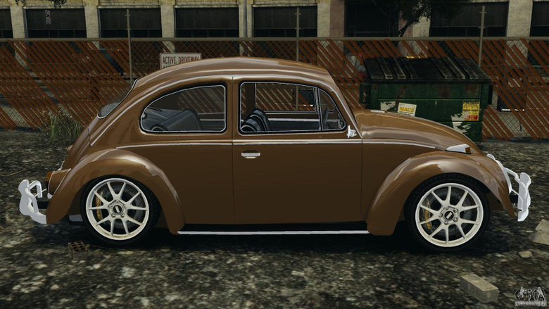 Volkswagen Fusca Gran Luxo v2 0 for GTA 4