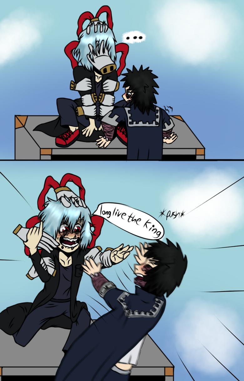 a mini Shigadabi comic in 2020