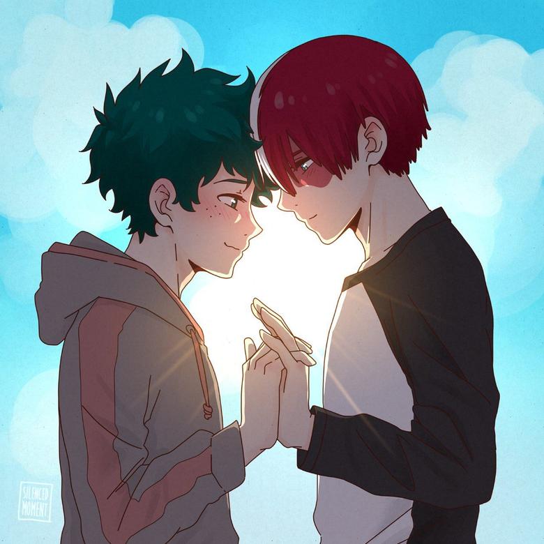 Deku and Todoroki