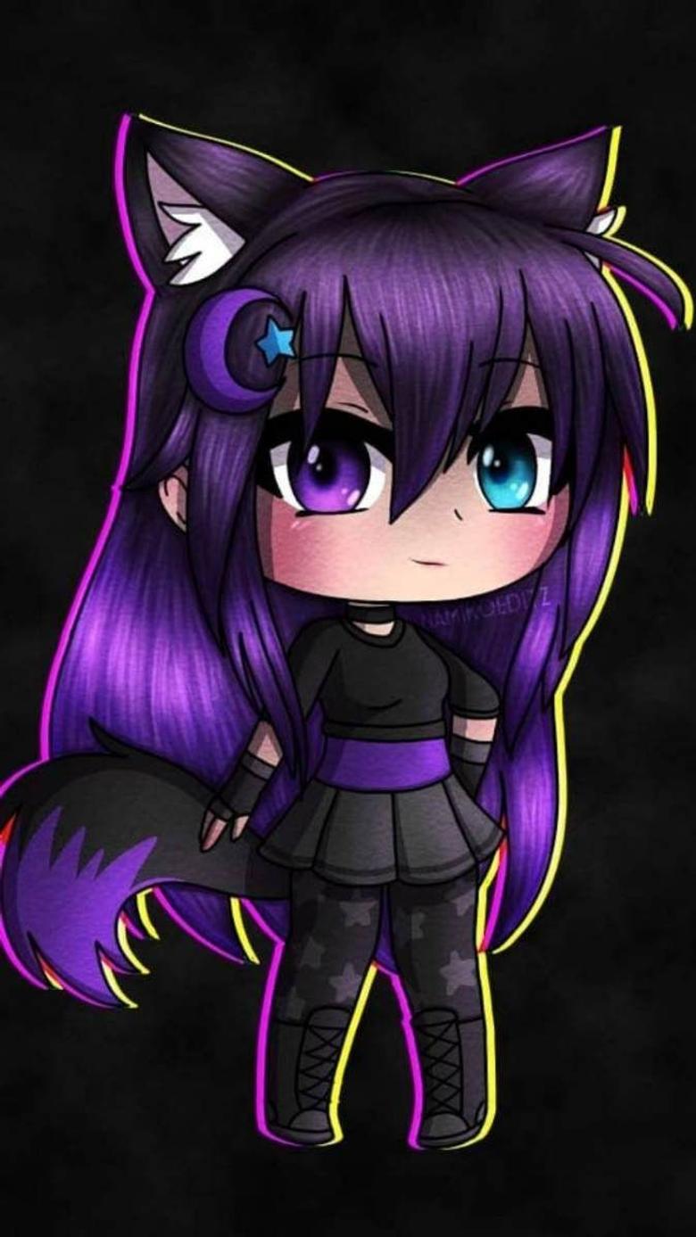 Purple gacha edit