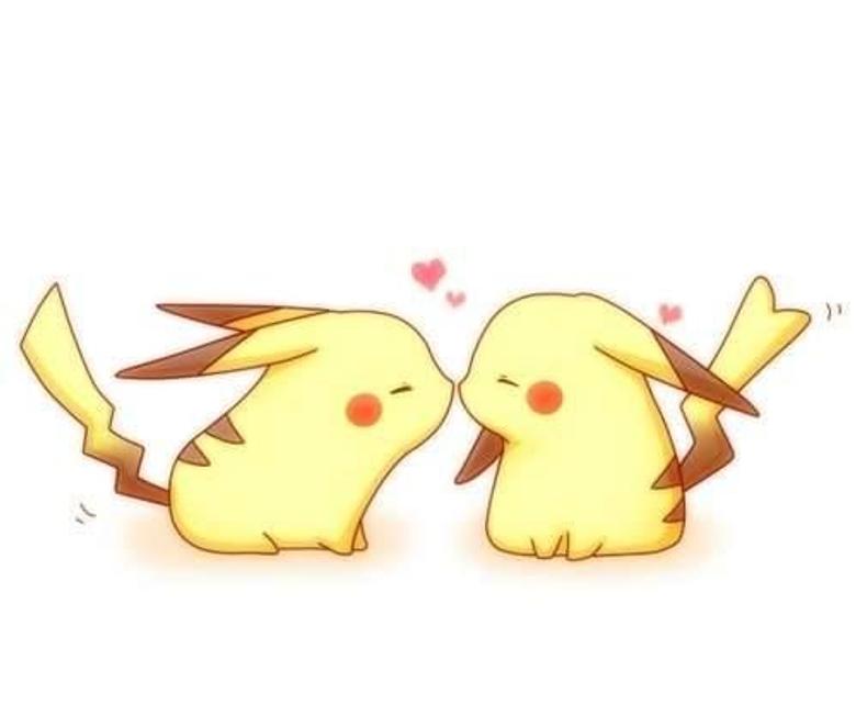 Pikachu x girl pikachu kissed