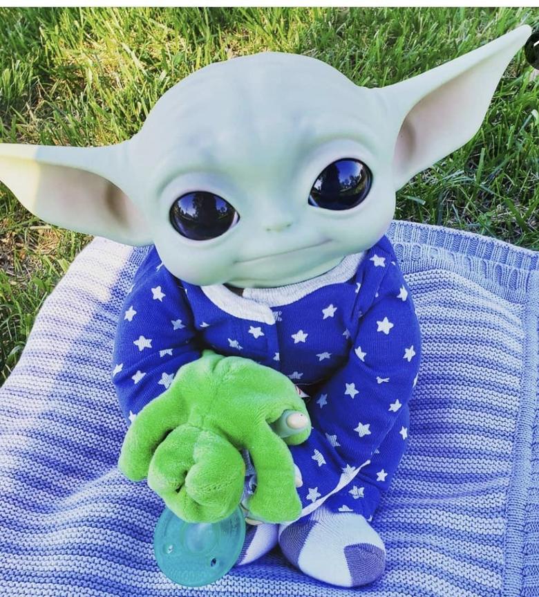 Hope you guys like my baby Yoda